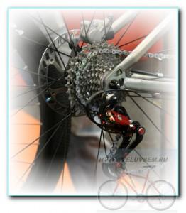 Переключение звездочек на велосипеде