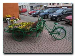 Не успели отойти, а велосипед покрасили
