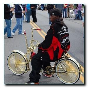 Кружева на велосипеде