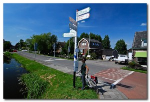 Указатели велосипедных маршрутов