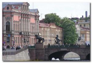Аничков мост Петербурга