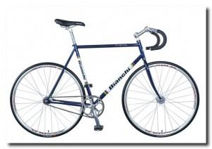 современный велосипед с прямым приводом от педалей