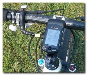 установка на велосипед