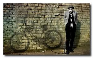 Здесь будет стоять мой велосипед