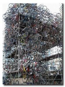 Стоянка велосипеда