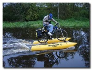 Вода велосипеду не помеха