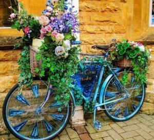 Антураж с цветами