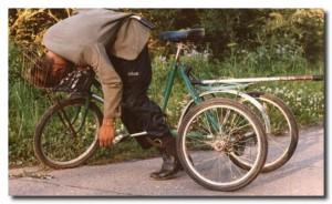 пьяный велосипедист.