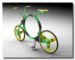 складывающийся велосипед