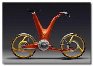 красивый по форме велосипед