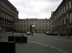Стоянки велосипедов около парламента
