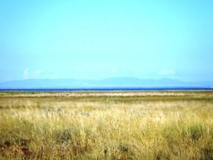 Море остаётся далеко позади