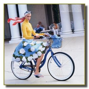 Не одевайте украшений на велосипеде